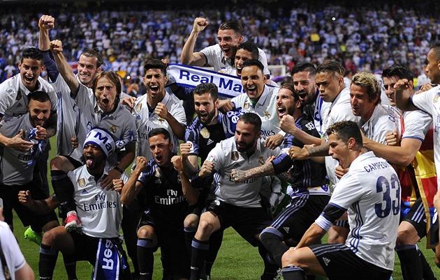 España tiene un nuevo campeón, Real vio el último partido y lo celebra