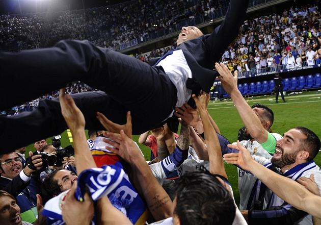 Entrenador de Zidane: La liga española es la mejor y ganar es increíble