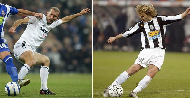 Y otra vez Zidane … Nedved se encontrará con su viejo oponente nuevamente