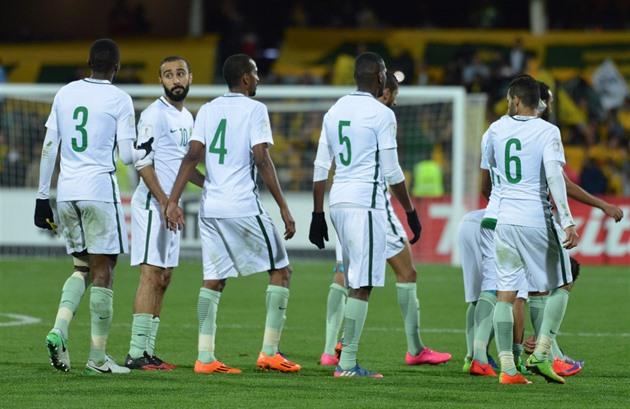 Výsledek obrázku pro fotbaliste saudské arabie minuta ticha