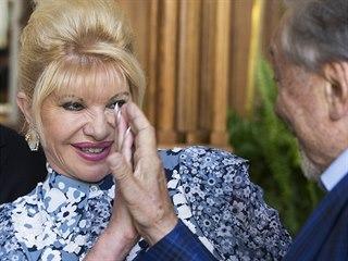 Ivana Trumpová drží styl a ráda jí kachnu, prozradil návrhář Laffita