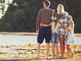 Tři typy rodiny: Drží tu vaši pohromadě beton, pudink, nebo páteř?