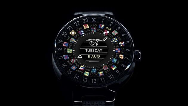 Povedené chytré hodinky Louis Vuitton. Řemínek stojí od 7 000 korun ... 7fcb01e1ee6
