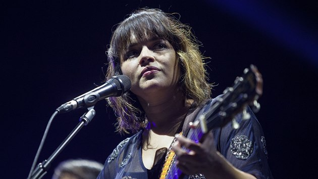 Norah Jones na festivalu Colours of Ostrava 2017