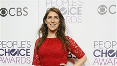 Mayim Bialiková na People's Choice Awards (Los Angeles, 18. ledna 2017)
