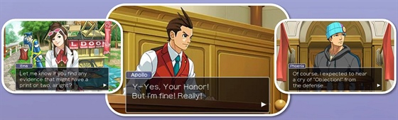 Apollo Justice: Ace Attorney na 3DS