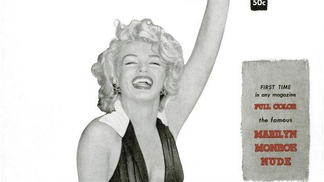 Marilyn Monroe na obálce magazínu Playboy (prosinec 1953)