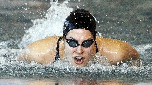 Lucie Svěcená patří mezi české plavecké talenty, má za sebou olympiádu i mistrovství světa a to je jí teprve 20 let.