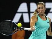 Češka Denisa Allertová v Melbourne hrála o čtvrtfinále Australian Open proti...