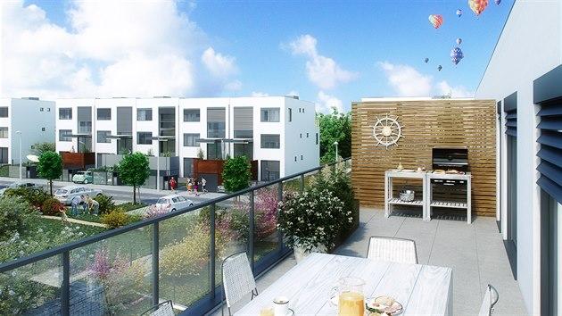 V Pražských Lipencích vzniká nové bydlení v klidu a zeleni