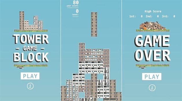 Hra Tower Block Game