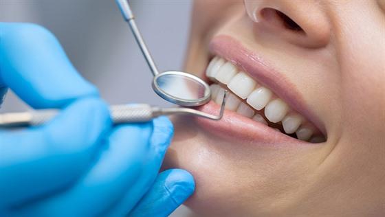 zuby, zubař, ilustrace
