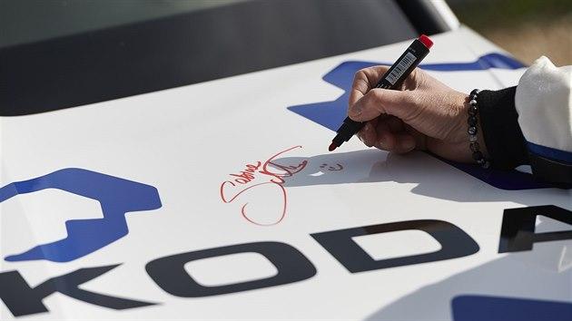 Škoda Kodiaq RS při rekordní jízdě na německém okruhu Nürburgring