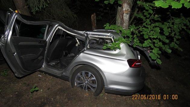 Při dopravní nehodě na Tachovsku se smrtelně zranil osmadvacetiletı spolujezdec. Řidič vozidla byl v době havárie pod vlivem alkoholu a drog.