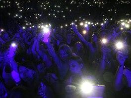 Každý den do areálu přišlo přes jedenáct tisíc lidí. Sledovali koncerty. 306e4ff4d53