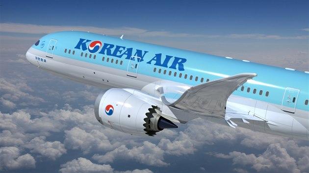 Boeing 787-9 Dreamliner společnosti Korean Air