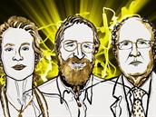 Frances Arnoldová, Geore Smith a Gregory Winter dostali Nobelovu cenu za chemii...