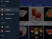 Aplikace Cocktails Guru obsahuje recepty na více než 15000 drinků.