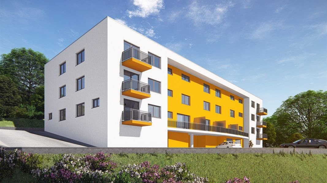 Developerský projekt BD Ronovská umožní bydlení v zeleni nedaleko Brna