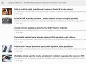 Klasická verze RSS čtečky Feedly je určena pro konzervativnější uživatele