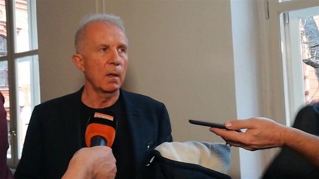 František Divokı u soudu