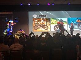 LiveWire EV motocykl značky Harley-Davidson