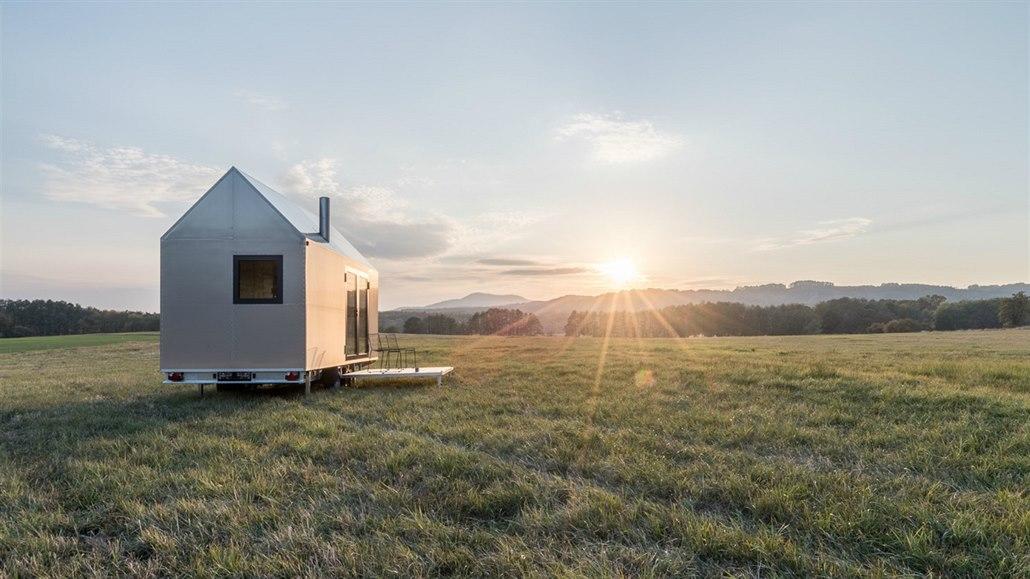 Designový domek si postavíte kdekoliv a bez povolení, je na kolech