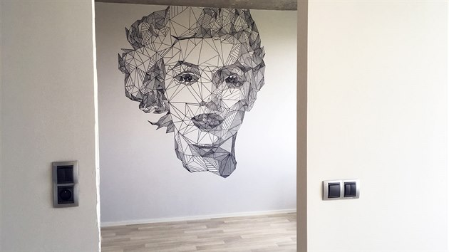 Stylová malba na zeď