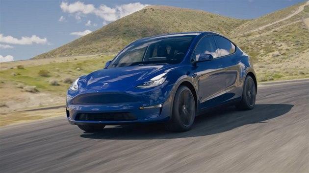 Tesla představila malé, levnější SUV, Model Y.