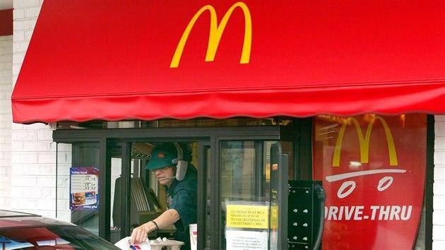 Služba drive-thru společnosti McDonalds