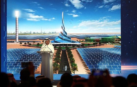 Mohammed Bin Rashid Al Maktourn solar park (Spojené arabské emiráty)