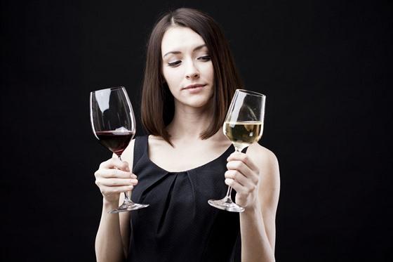 víno, ilustrace