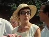 Alena Karešová ve filmu Slunce, seno, jahody