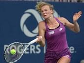 Kateřina Siniaková na turnaji v Torontu