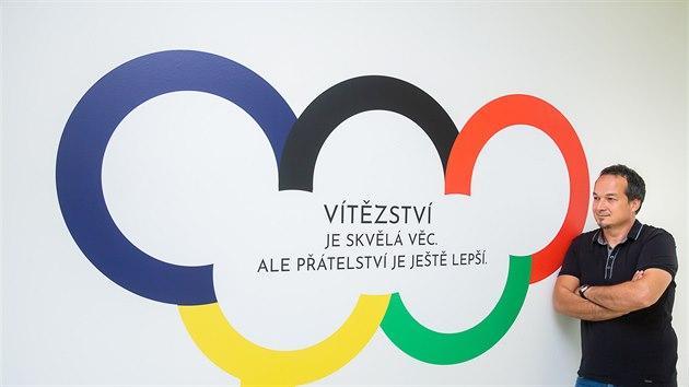 Ředitel Základní a mateřské školy Trivium Plus v Dobřanech Jan Grulich (30. 8. 2019)