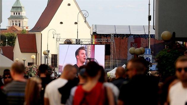 Vinobraní se konalo na třinácti scénách, na té hlavní hudební vystoupili kapely Olympic či Mandrage.