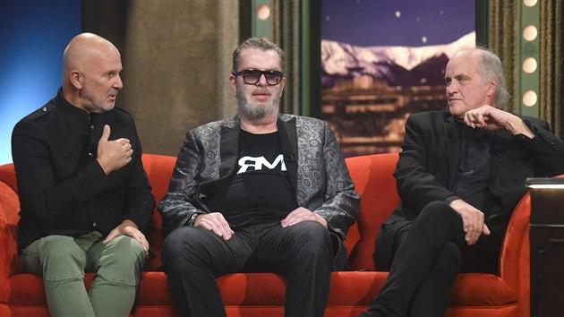 Ondřej Soukup, Richard Müller a Michael Kocáb
