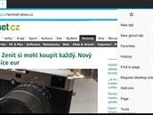 Prohlížeč Ghostery Privacy Browser se soustředí na ochranu soukromí.