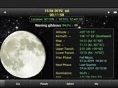 Vaplikaci Daff Moon Phase zjistíte informace nejen o Měsíci, ale také o...
