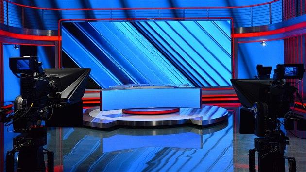 Nové studio CNN Prima News