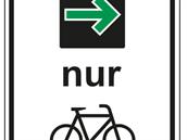 Zelená šipka i pro cyklisty