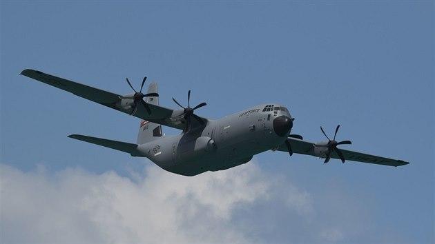 Vojenskı dopravní letoun C-130 Hercules