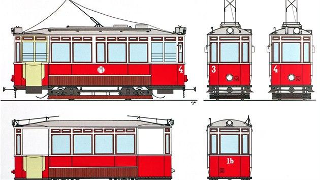 První jihlavské tramvaje byly vyrobeny štırskohradeckou vagonářskou a strojírenskou továrnou v rakouském Grazu. Elektrická zařízení tramvají dodala firma AEG, později pak Siemens-Schuckert.