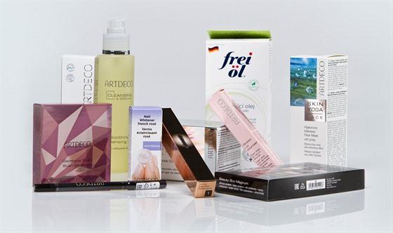 Kosmetickı balíček od firmy Artdeco v hodnotě 5000 Kč