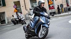 Piaggio Medley vhodnı do hustıch městskıch aglomerací