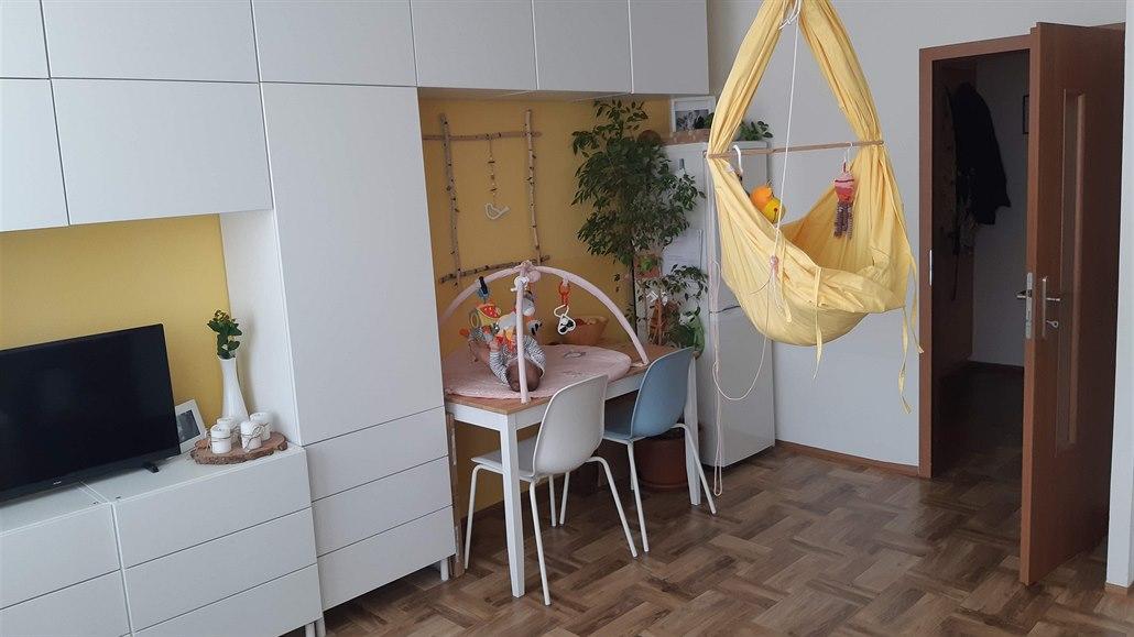 Poradna architekta: kam s dítětem v malém panelovém bytě 2+kk