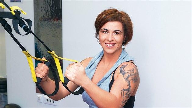 Lenka Gasnárková zhubla skoro 60 kilogramů.