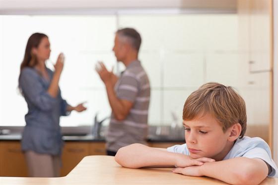 Nezapomínejte na jedno důležité pravidlo, problémy neřešte nikdy před dětmi!