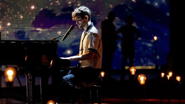 Loňskı vítěz Eurosongu Duncan Laurence v pořadu Europe Shine A Light