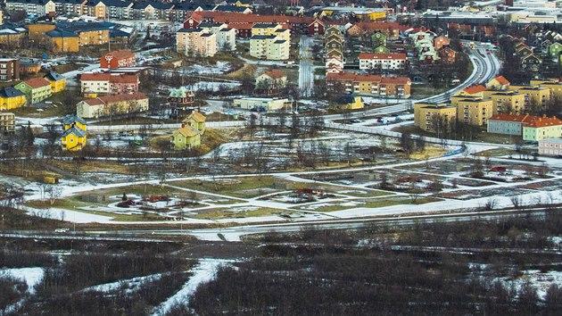 Severošvédské město Kiruna